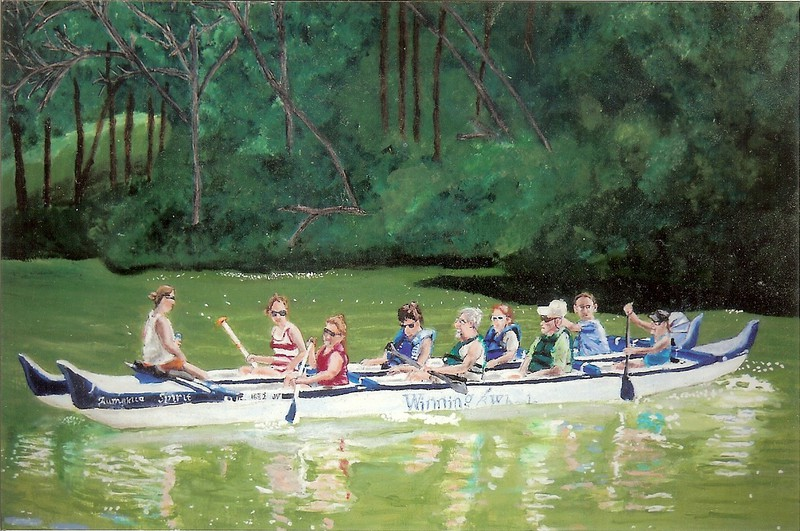 Outrigger Canoeing Wilderness Endeavor 2011 by S. C. Love 2012